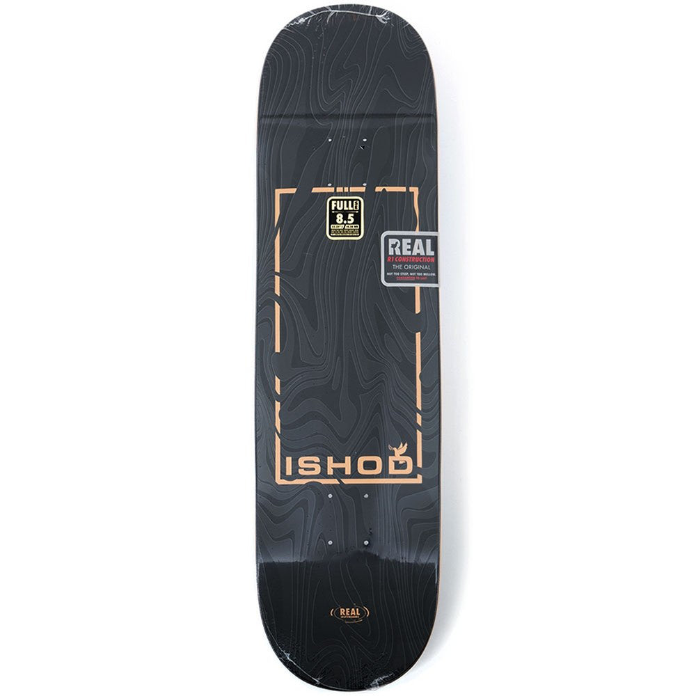 Real Marble Dove Ishod Deck - 8.5