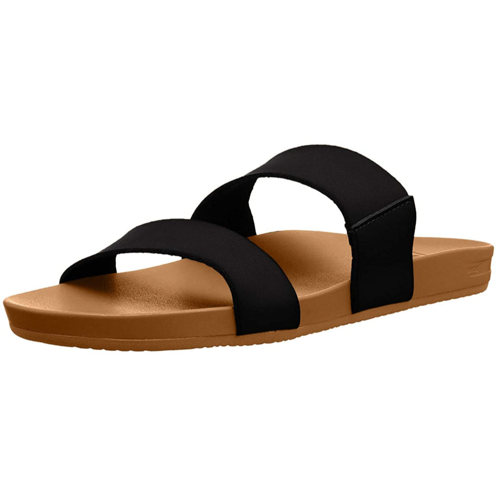 Reef Cushion Bounce Vista - Womens - Black/Natural