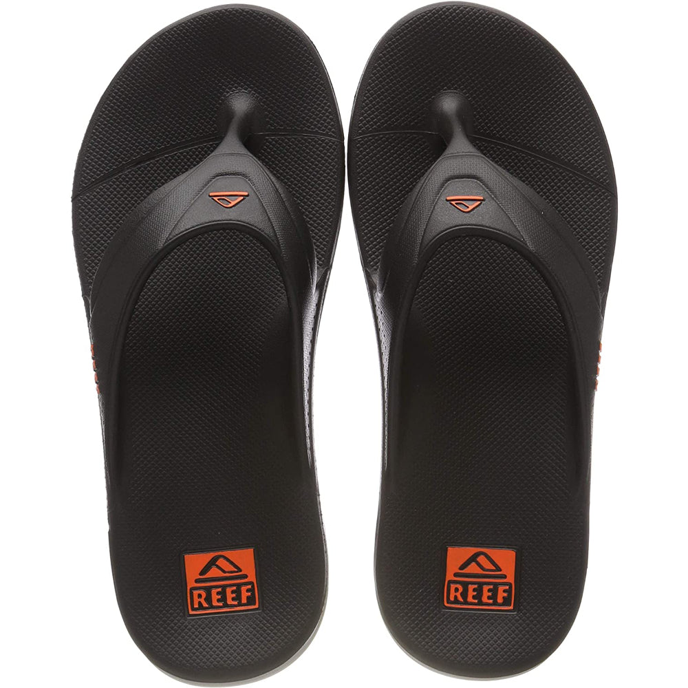Reef One Three Point Sandal - Mens - Grey/Orange