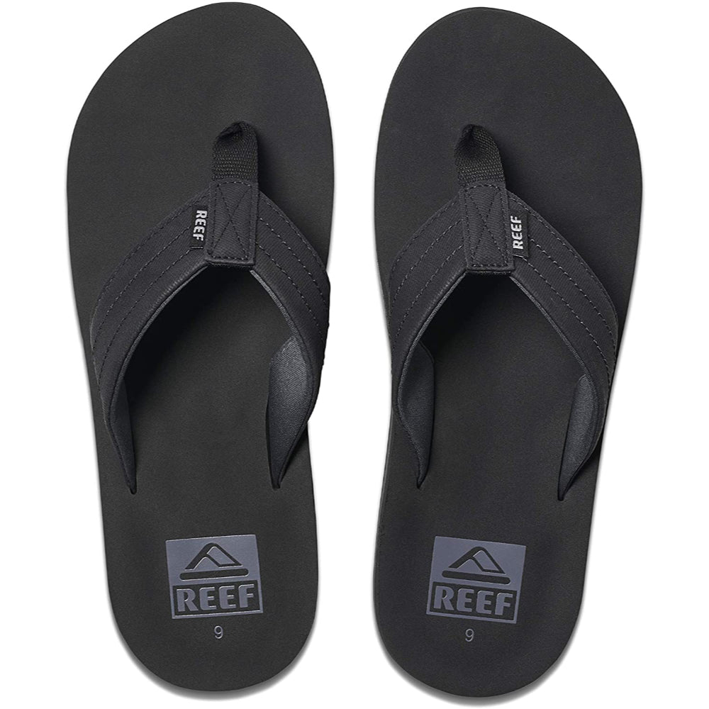 Reef Twinpin Lux Sandals Mens - Black