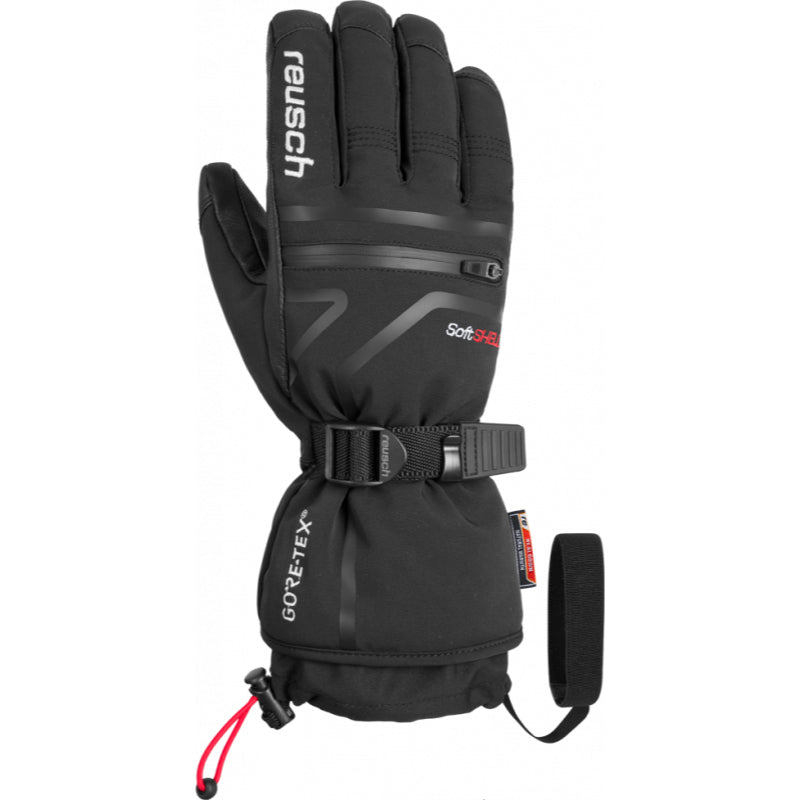 Reusch Down Spirit Gore Tex Mens Glove - Black/White