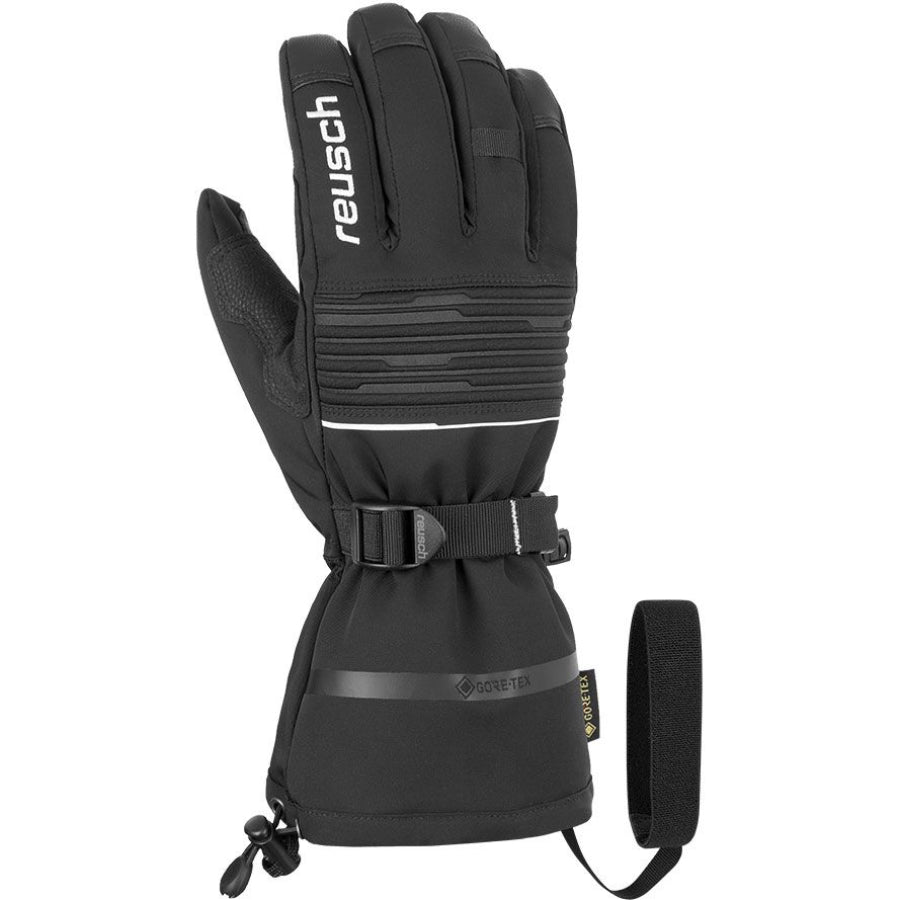 Reusch Isidro Gore Tex Glove Mens - Black White