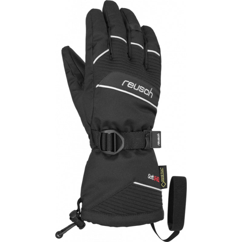 Reusch Maxwell Gore Tex Glove Kids - Black White