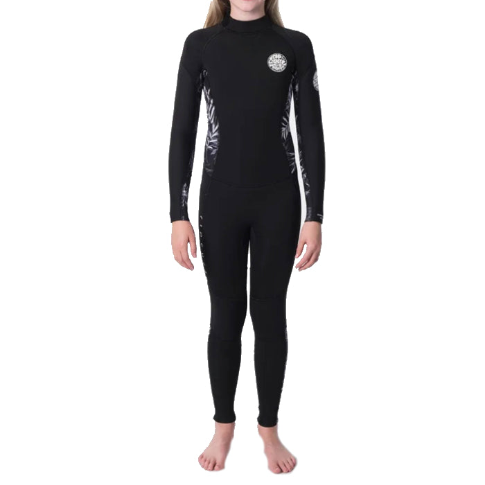 Rip Curl Dawn Patrol 32 ES Steamer Girls - Black/Charcoal