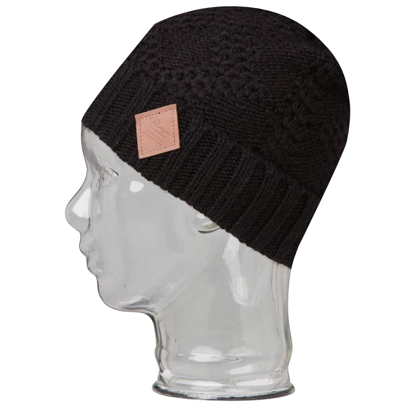 Rojo All Knotted Up Beanie - True Black