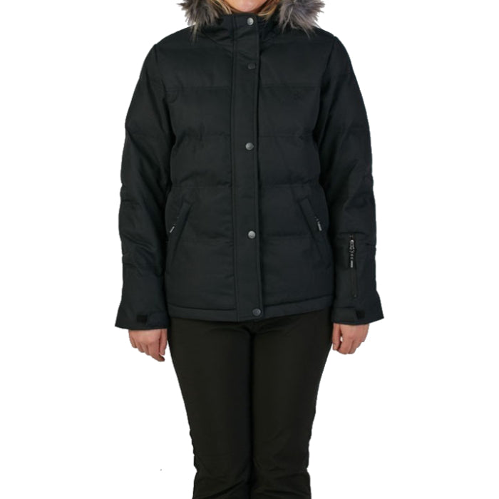 Rojo Chalet Jacket Womens - True Black
