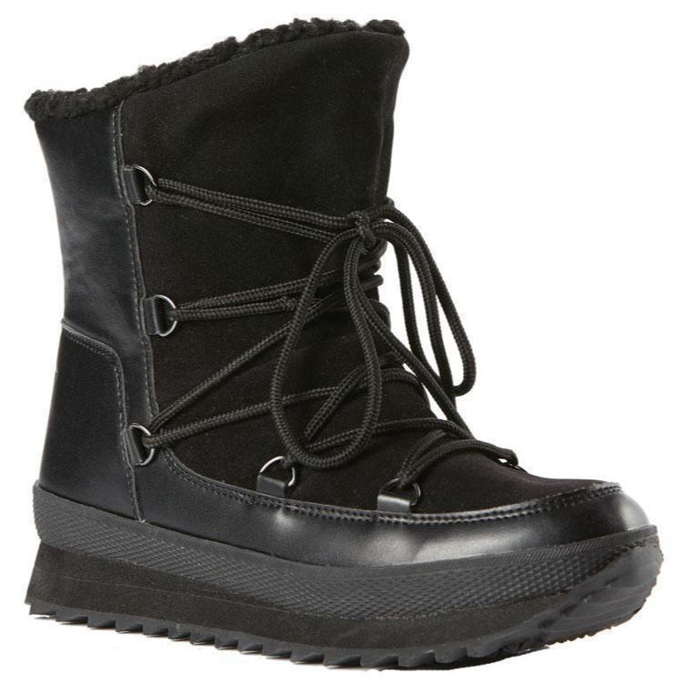 Rojo Lodge Boot Womens - True Black