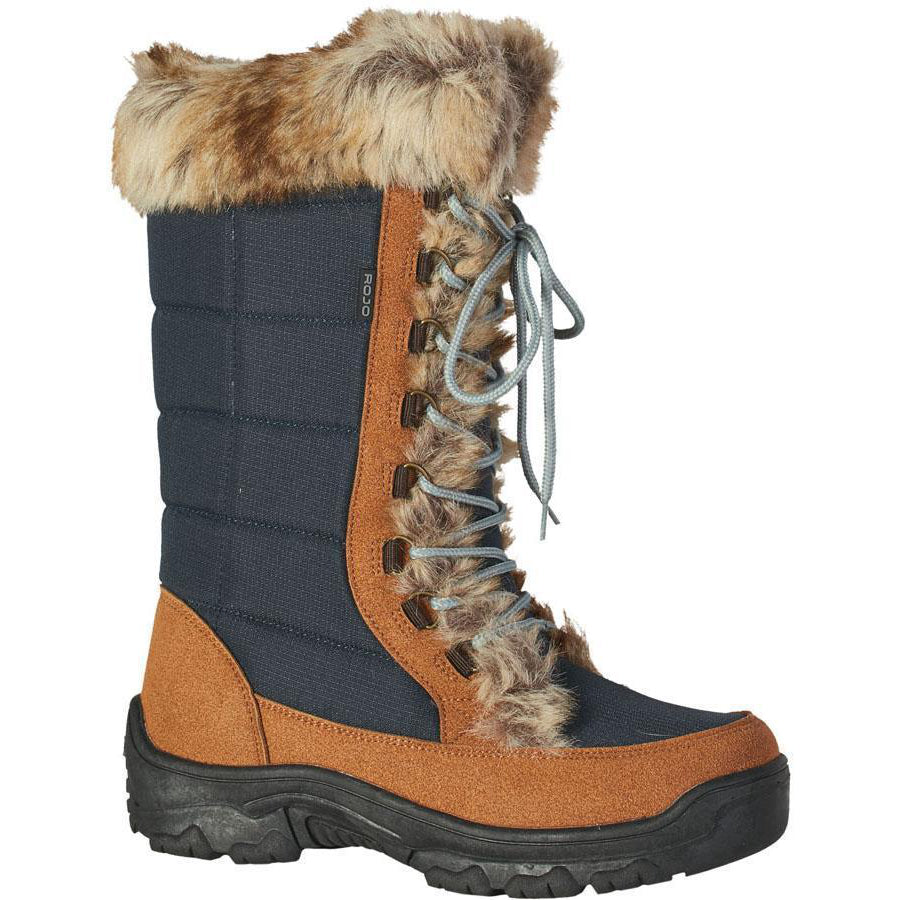 Rojo Snow Fox Boots Womens - Black Iris