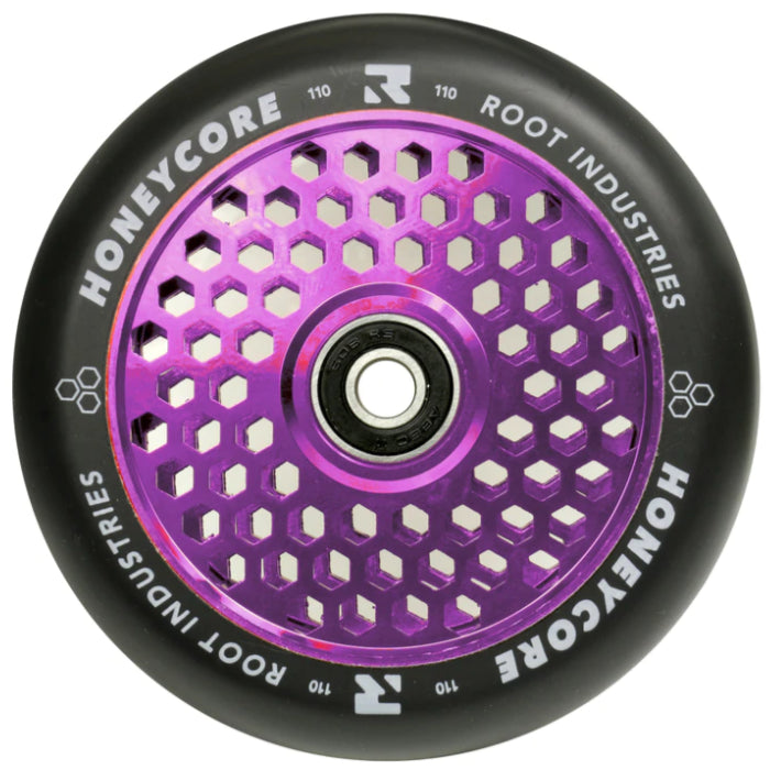 Root Industries Wheels - 110mm Honey Core Black / Purple
