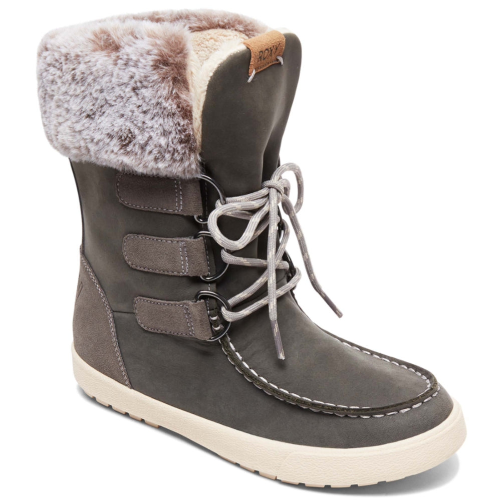 Roxy Rainier II Apres Boots Womens - Charcoal