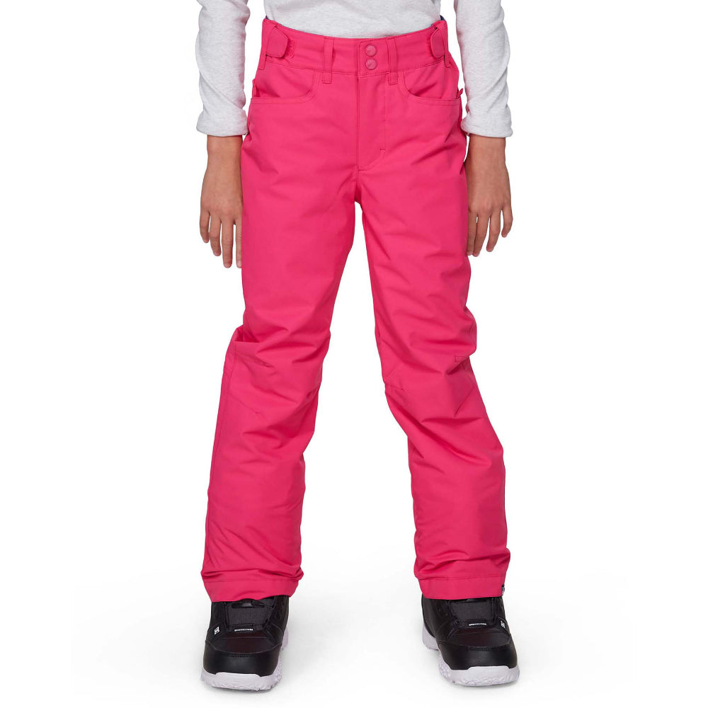 Roxy Backyard Pant Girls - Beetroot Pink
