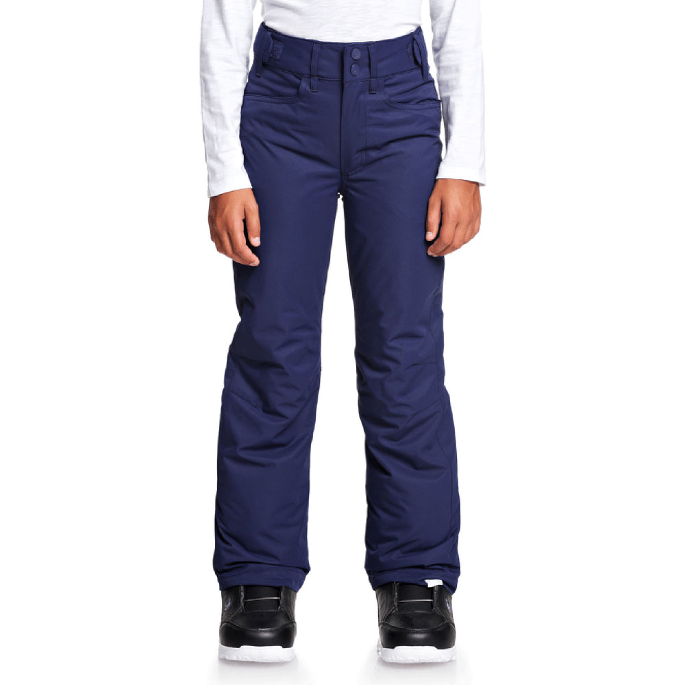 Roxy Backyard Pant Girls - Medievil Blue
