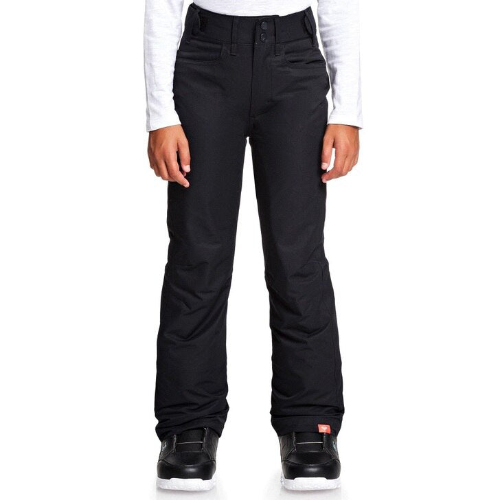 Roxy Backyard Pant Girls - True Black