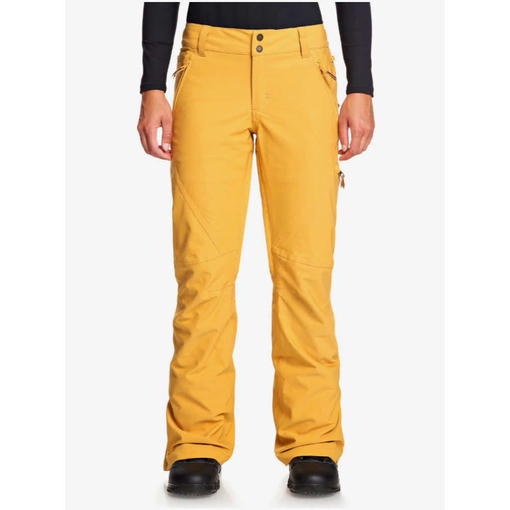 Roxy Cabin Pant Womens - Spruce Yellow