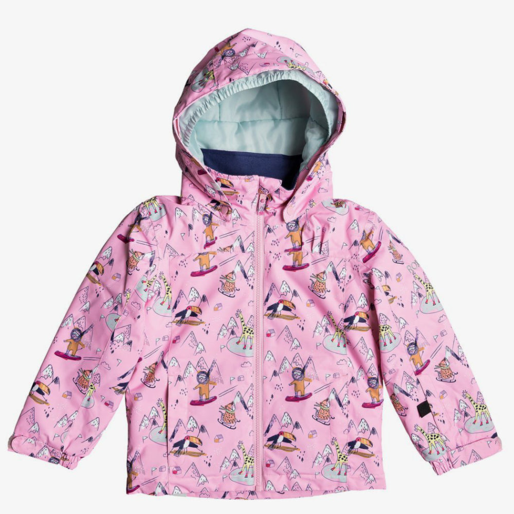 Roxy Mini Jetty Jacket Kids - Prism Pink Snow Trip