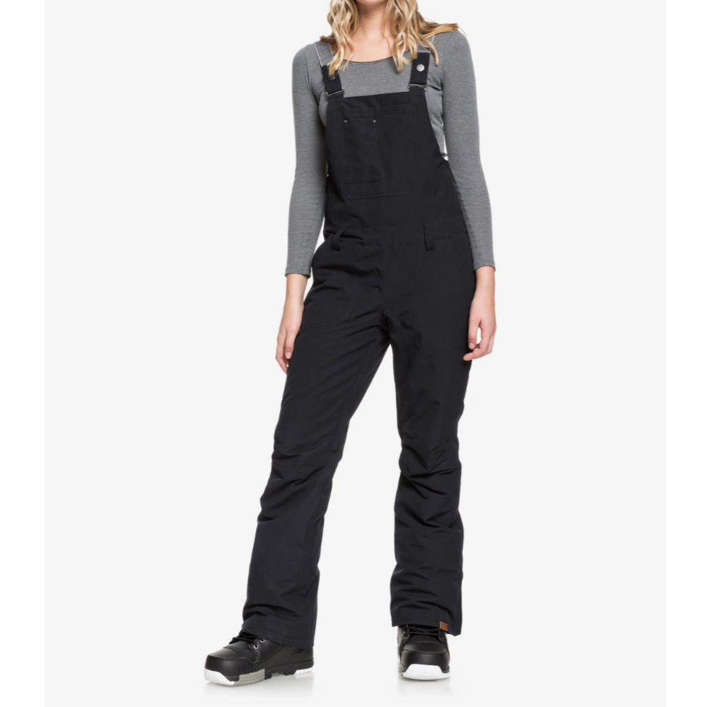 Roxy Rideout Bib Pant Womens - True Black