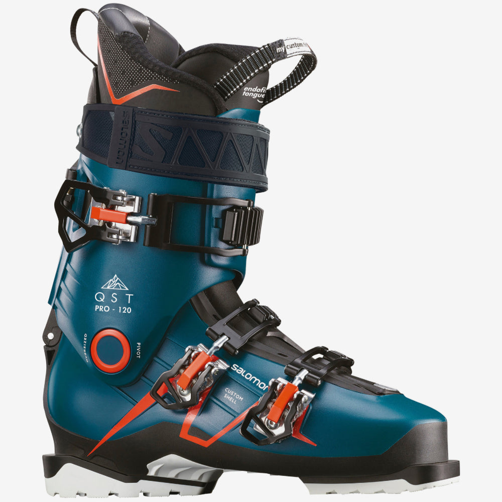 Salomon QST Pro 120 Ski Boot Mens Blue/Black/SA