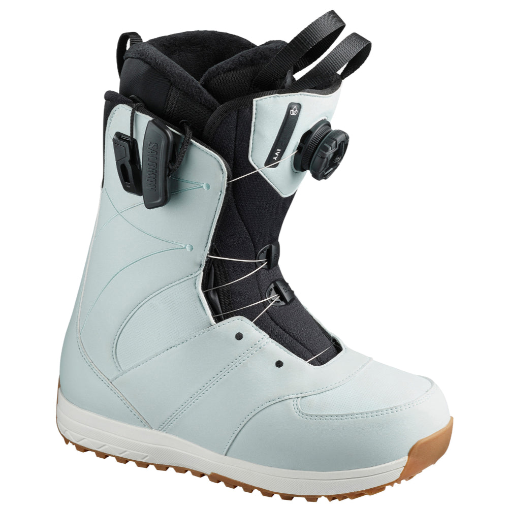Salomon Ivy Boa SJ Sterling Womens Snowboard Boots - Black/Sterling Blue