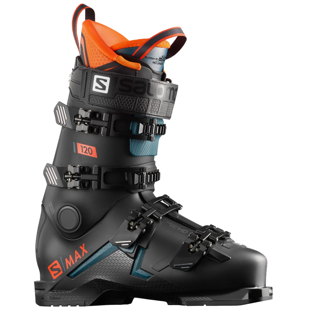 Salomon X Max 120 Boot - Mens - Black/Orange
