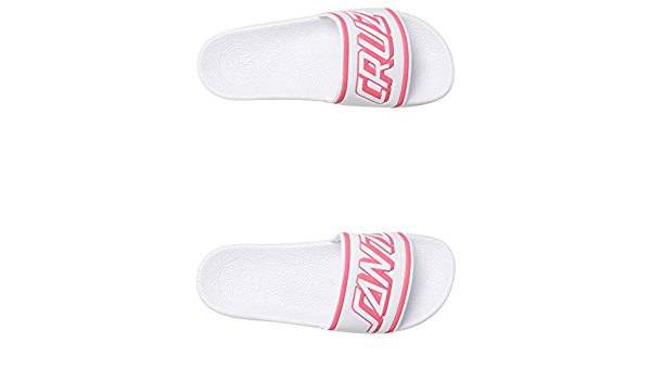 Santa Cruz Summer Strip Slides - White