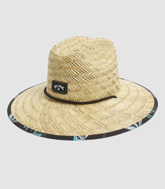 Billabong Tides Print Straw Hatt - Navy