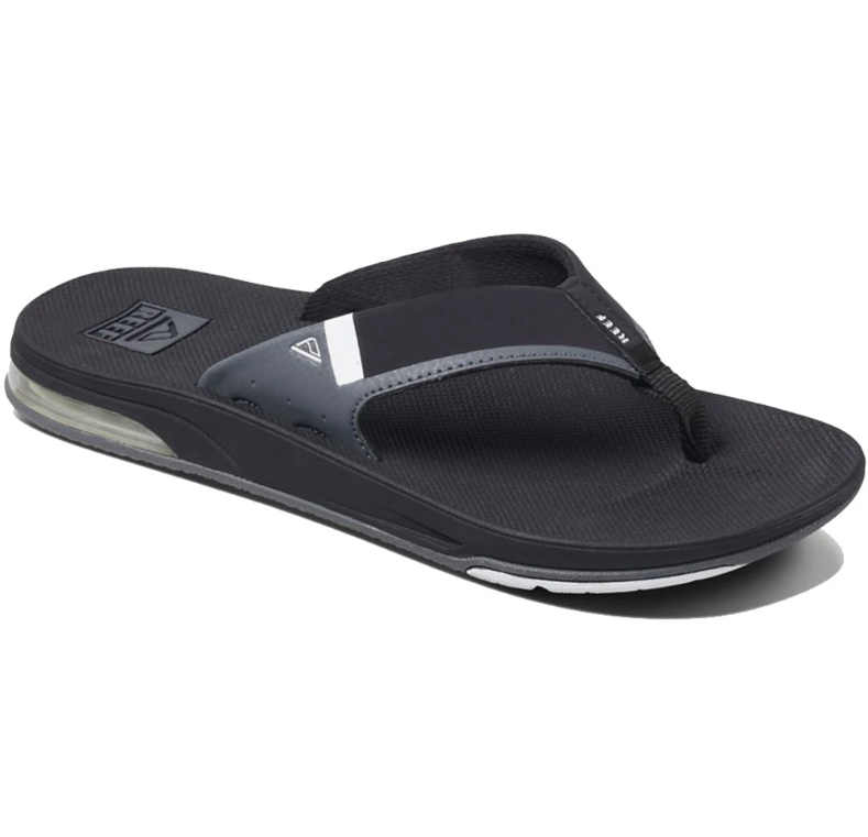 Reef Fanning Low Mens Sandal - Black/White