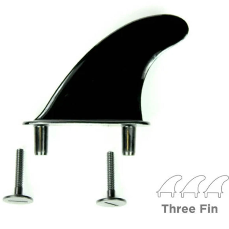 Softlite Replacement Screw In Fin Set x 3 Fins + Screws