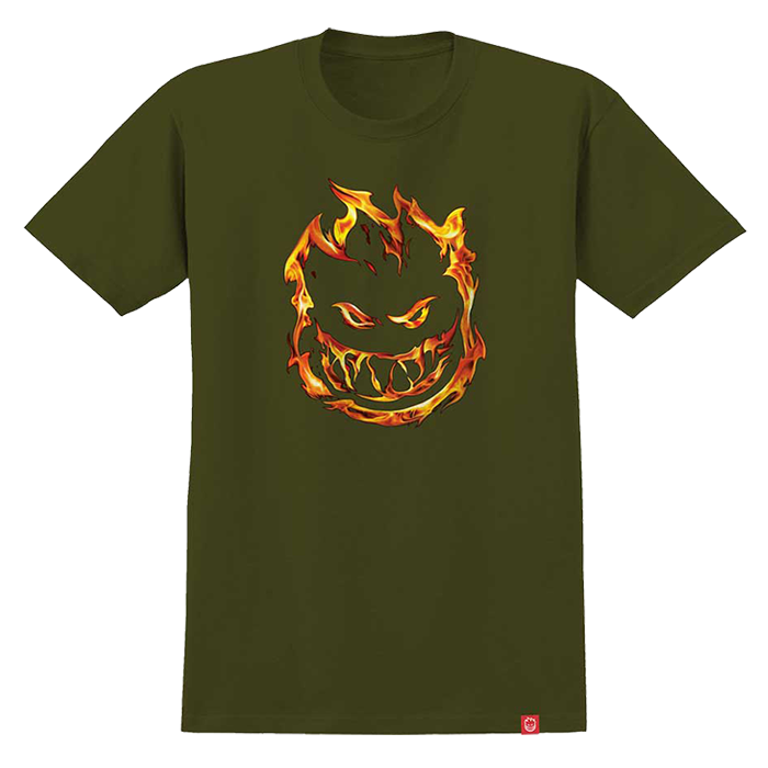 Spitfire 451 T Shirt - Mens - Military Green