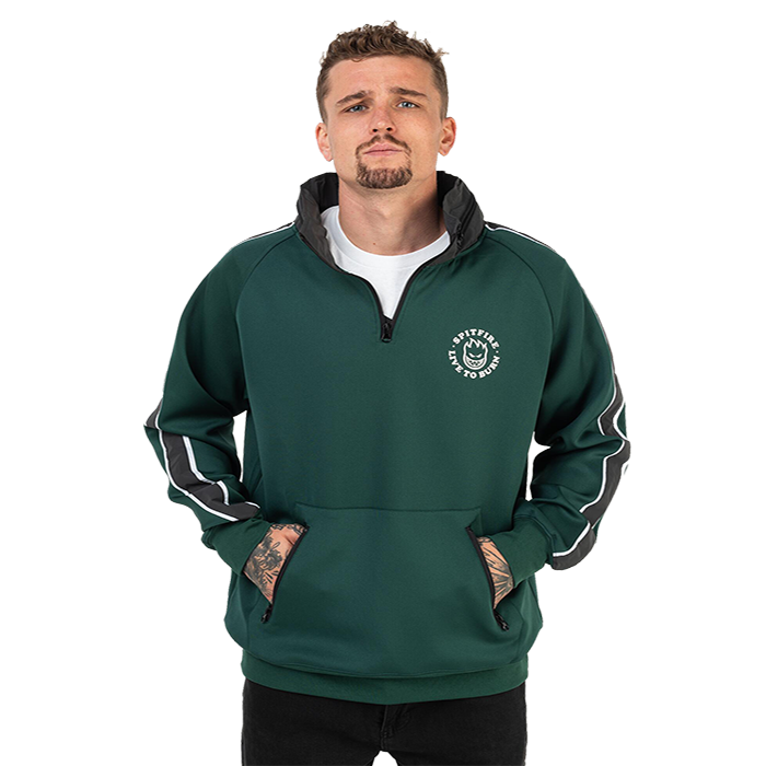 Spitfire LTB Track Jacket - Mens - Green
