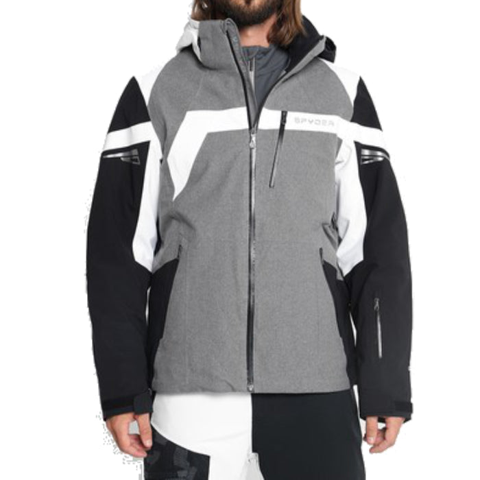 Spyder Titan Snow Jacket Mens - Grey