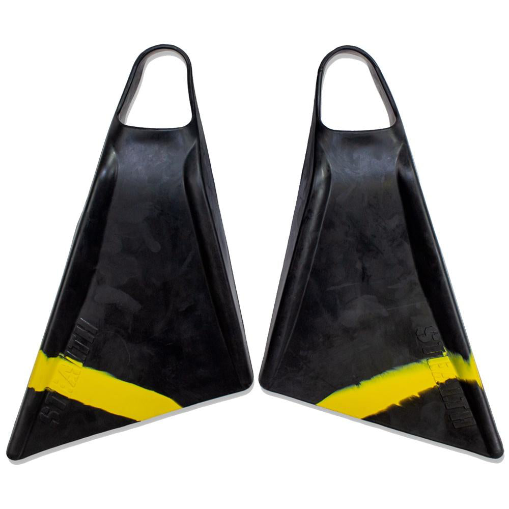 Stealth S2 Pinnacle Fins - Fluro Yellow