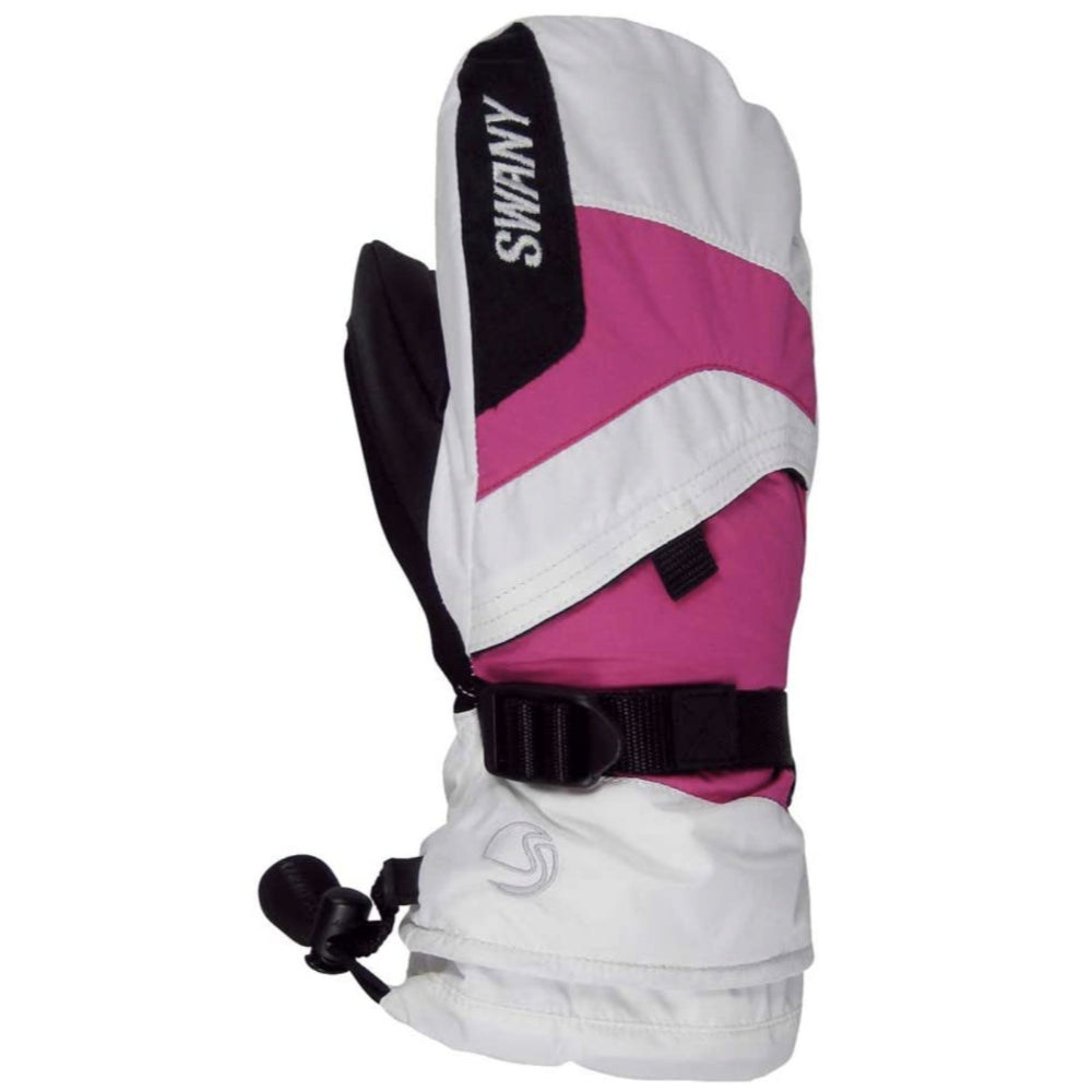 Swany X-Over Mitt Juniors - Black/Magenta