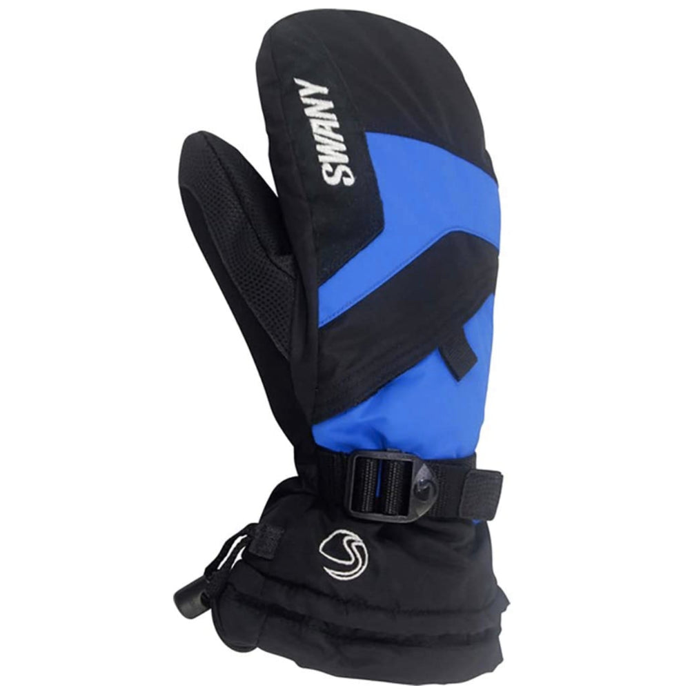 Swany X-Over Mitt Juniors - Black/Royal