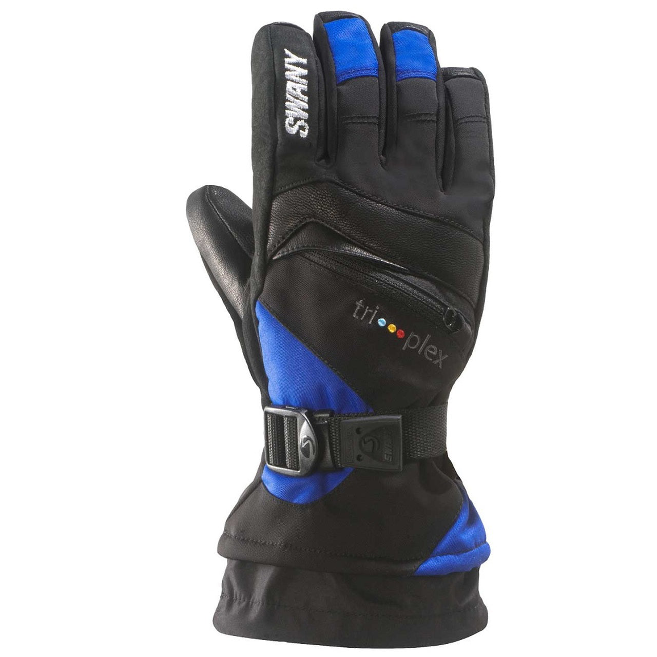 Swany X-Change Gloves Juniors - Black/Royal Blue