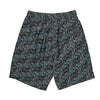 Polar Art Swim Shorts - Mens - Black