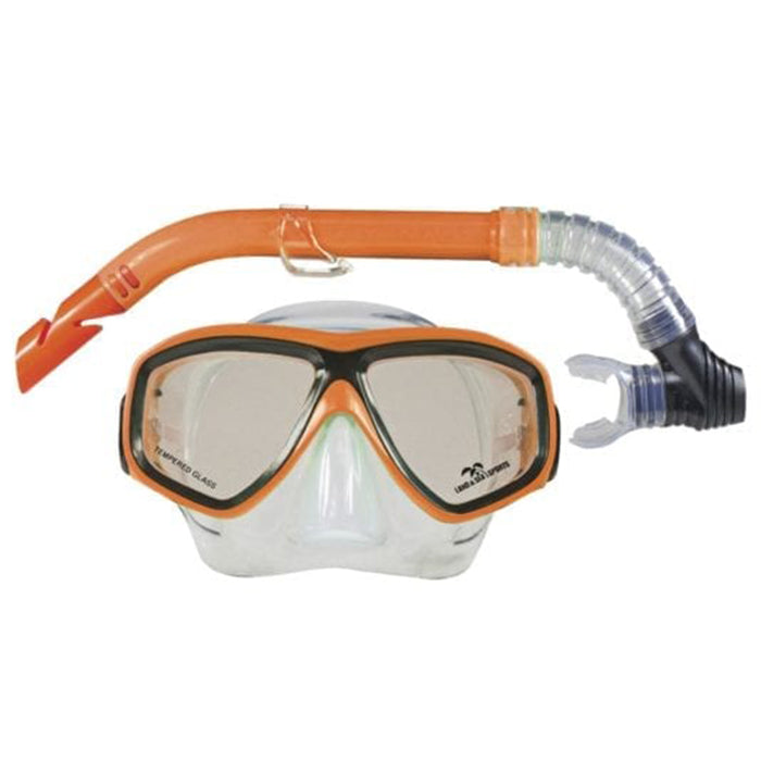 Land & Sea Daydream Mask Snorkel Set - Orange