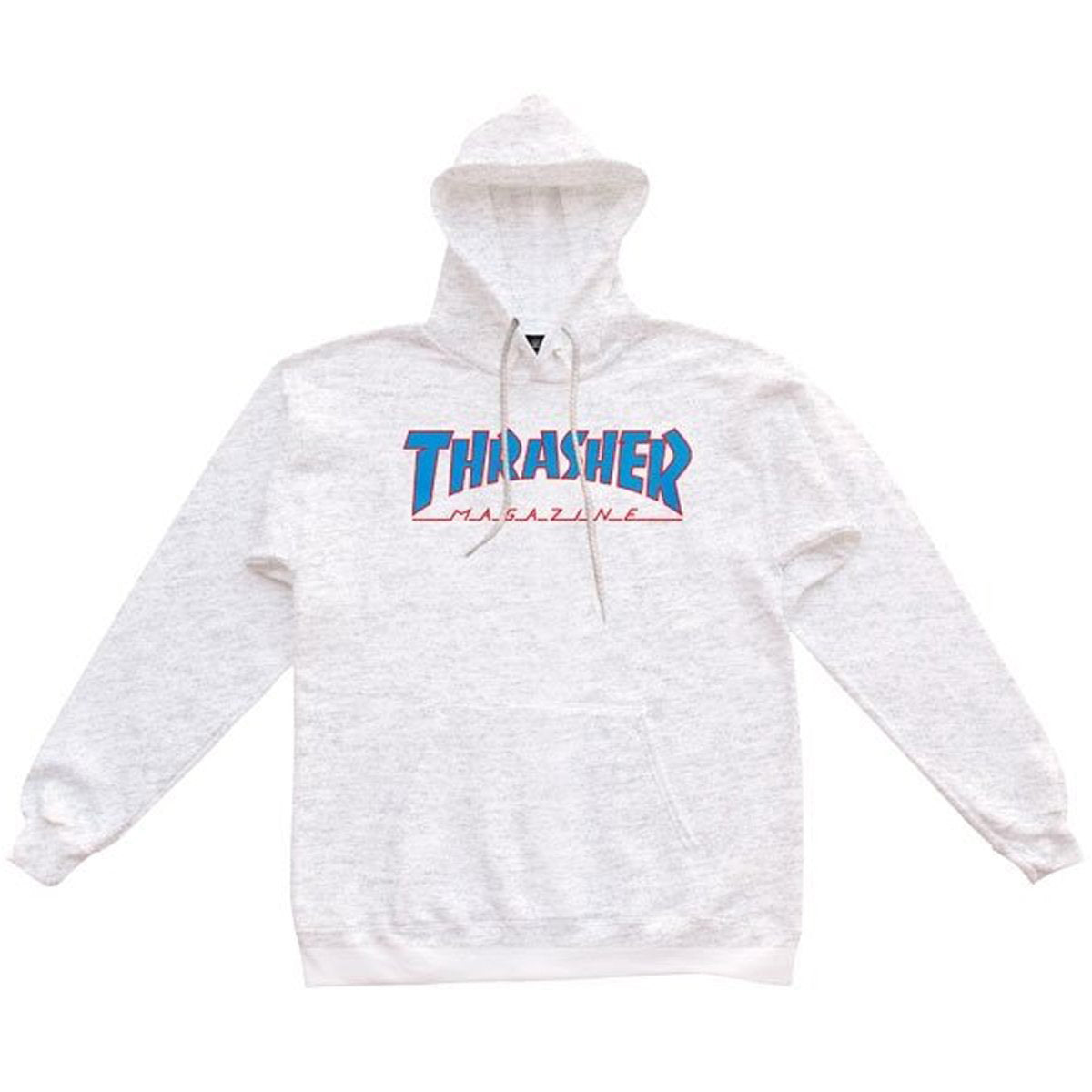 Thrasher Outlined Hoodie - Ash/Grey