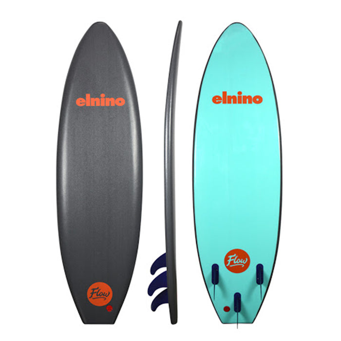 Elnino Stinger Softboard 7ft - Quartz Grey - Extra Shipping Fees May Apply