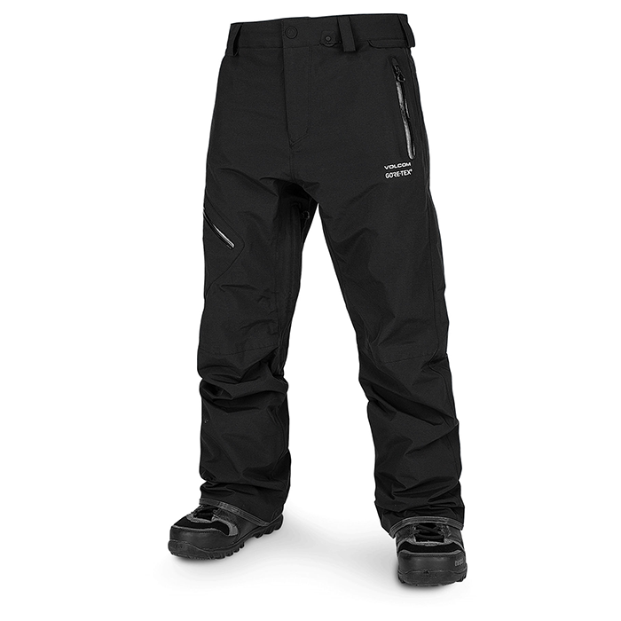 Volcom L Gore-Tex Pants - Mens Black