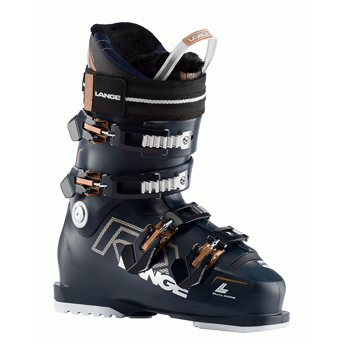 Lange RX 90 Boots - Womens - Black/Blue/Copper