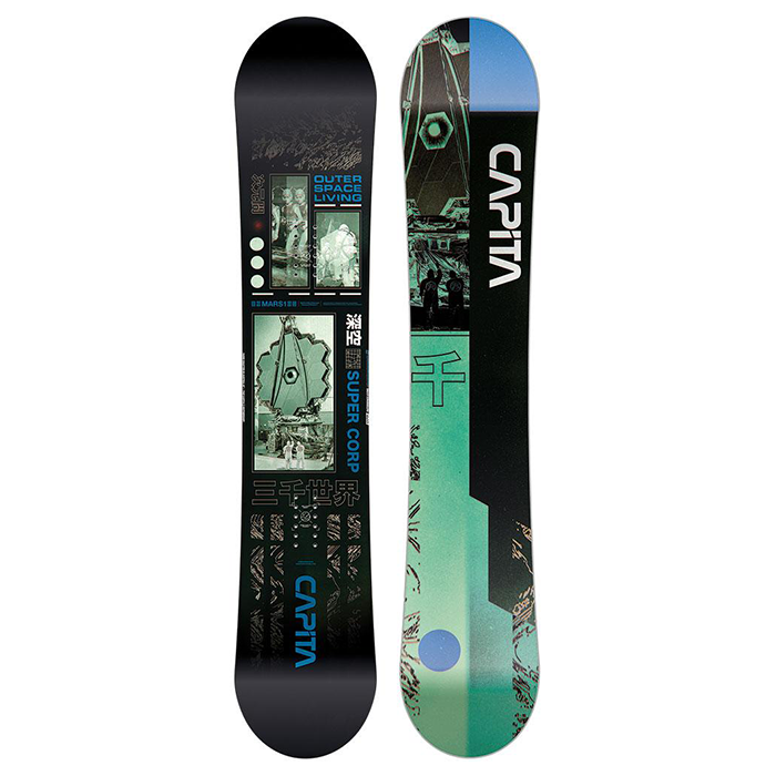 Capita Outerspace Living Snowboard Mens 2021 - 158