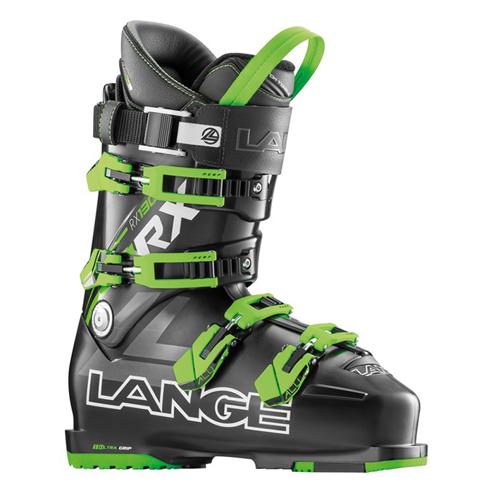 Lange RX 130 Boot - Mens Black/Green 2017