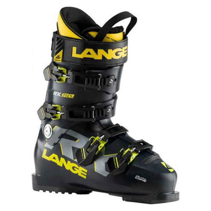 Lange RX 120 Ski Boots Mens -Black/Yellow