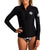Rip Curl G Bomb Long Sleeve Front Zip Womens Jacket - Black