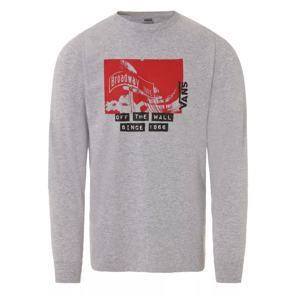 Vans X Baker L/S Tee - Mens - Athletic Heather