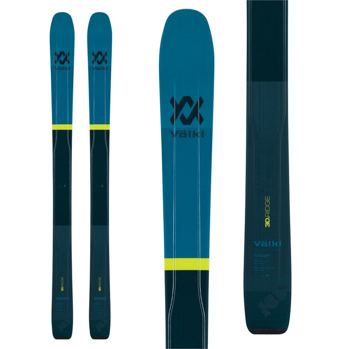 Volkl 100Eight Ski 181cm - Mens 2020