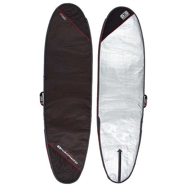 Ocean & Earth Compact Day Longboard Cover - Black - MEMBERS PRICE