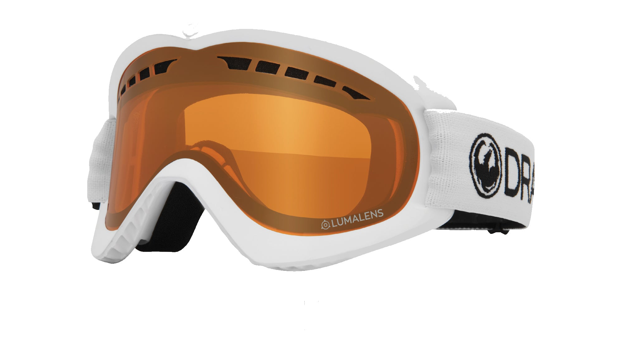 Dragon DX Goggle - White/LL Amber