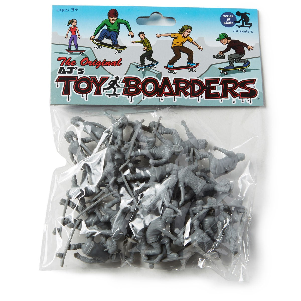 Toyboarders Skate 2 Grey 24 Pack