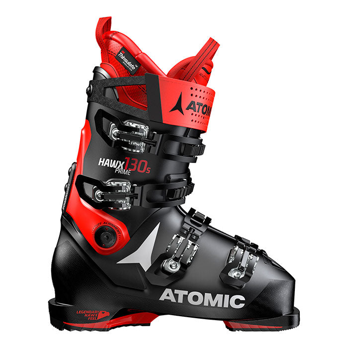 Atomic Hawx Prime 130 Ski Boot - Mens -Black/Red
